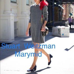 🆕Stuart Weitzman Marymid Pumps Blue Suede US 5.5